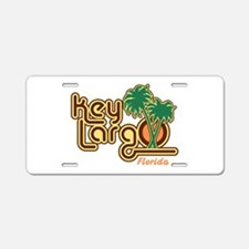 Key Largo Florida Aluminum License Plate