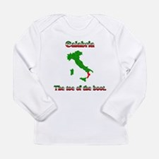 Calabria, the toe of the boot. Long Sleeve T-Shirt