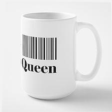 HRT-BAR CODE-coupon queen 1 Mugs