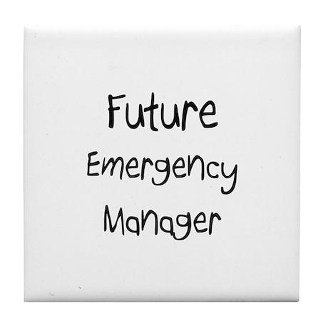 Future Emergency Manager Tile Coaster