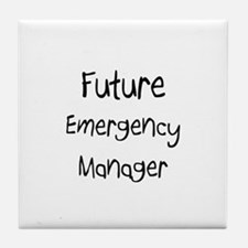 Future Emergency Manager Tile Coaster