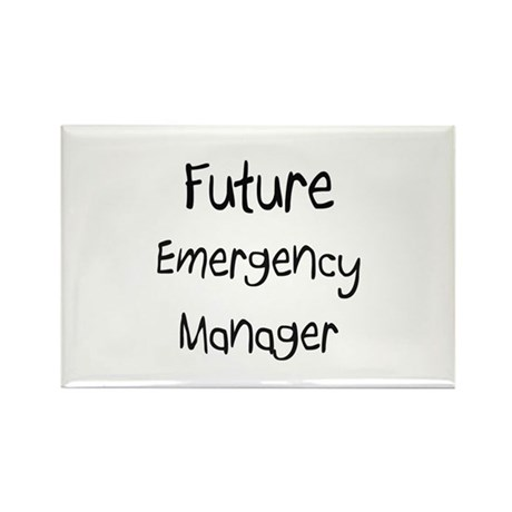 Future Emergency Manager Rectangle Magnet