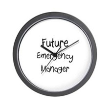 Future Emergency Manager Wall Clock