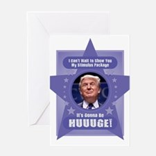 Trump Stimulus Package Greeting Cards
