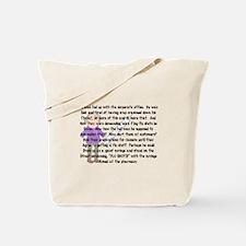 Cute Pharmacist humor Tote Bag