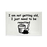 I'm not getting old Rectangle Magnet (100 pack)