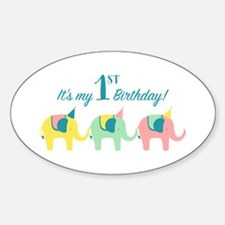 My 1st Birthday Decal
