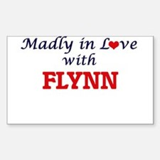 Madly in love with Flynn Decal