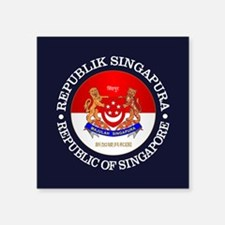 Singapore (rd) Sticker