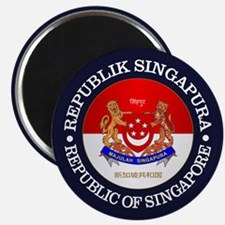 Singapore (rd) Magnets