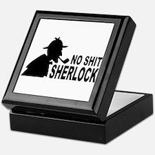 No Shit Sherlock Keepsake Box