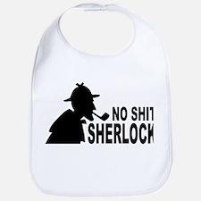 No Shit Sherlock Bib