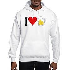 I Love Beer (design) Hoodie