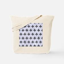 RYL1 BK-WH MARBLE Tote Bag