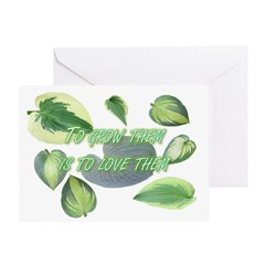To grow them is to love them Greeting Card
