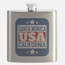 Santa Monica California USA Flask