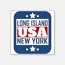 Long Island New York USA Sticker