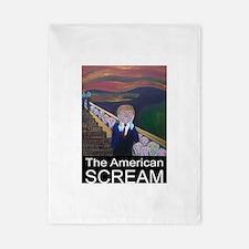 The American Scream Twin Duvet