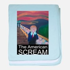 The American Scream baby blanket