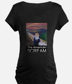 The American Scream Maternity T-Shirt