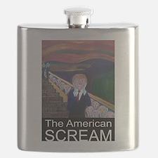 The American Scream Flask