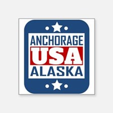 Anchorage Alaska USA Sticker