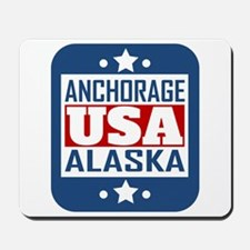 Anchorage Alaska USA Mousepad