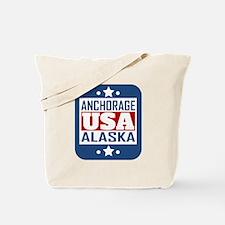 Anchorage Alaska USA Tote Bag