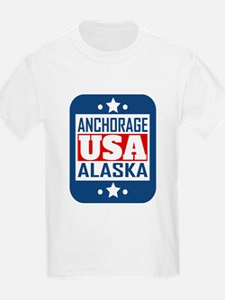 Anchorage Alaska USA T-Shirt