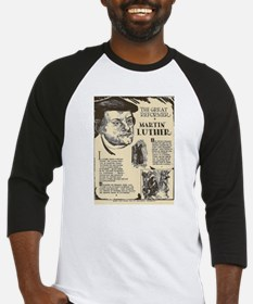 Martin Luther Mini Biography Baseball Jersey