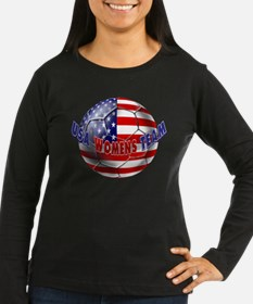 US Womens Soccer Long Sleeve T-Shirt