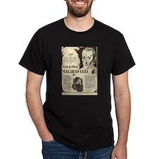 Niccolo Machiavelli Mini Biography T-Shirt
