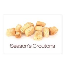 Season's Croutons Postcards (Package of 8)