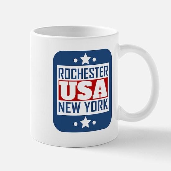Rochester New York USA Mugs