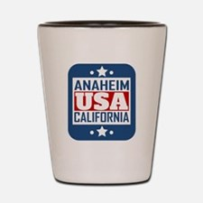 Anaheim California USA Shot Glass