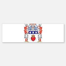 Douglas Coat of Arms - Family Crest Bumper Bumper Bumper Sticker