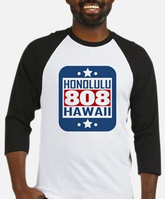808 Honolulu HI Area Code Baseball Jersey