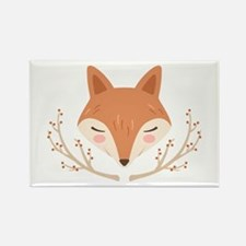 Fox Face Magnets