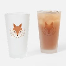 Fox Face Drinking Glass