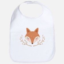 Fox Face Bib