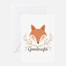Goodnight Fox Greeting Cards