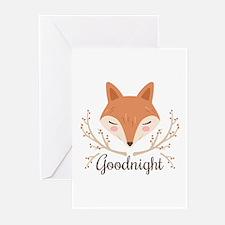 Goodnight Fox Greeting Cards