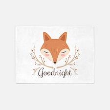 Goodnight Fox 5'x7'Area Rug