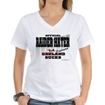 Faiders on the Move Women's V-Neck T-Shirt
