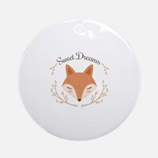 Sweet Dreams Round Ornament