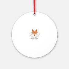 Wild One Round Ornament