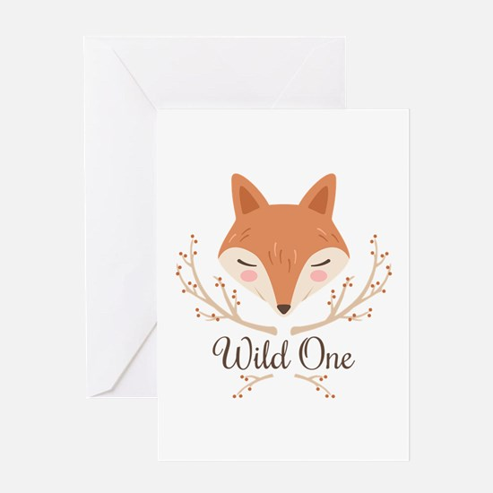 Wild One Greeting Cards