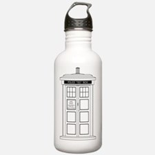 Cute Time travel Water Bottle