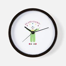 Class Clown Wall Clock