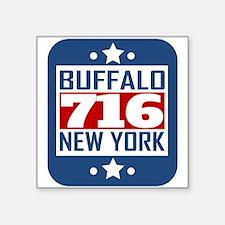 716 Buffalo NY Area Code Sticker